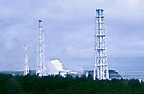 "AP ©<br> Атомная электростанция ""Фукусима-1"""